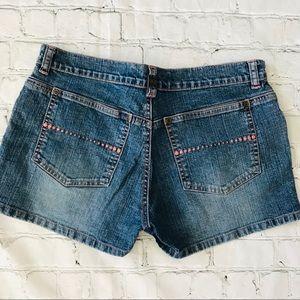 GLO Jean shorts size 5 waist 29 stretch jeans